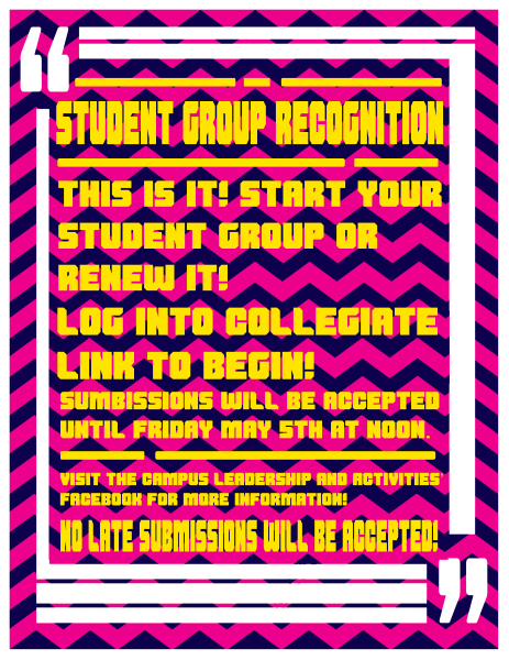 Group Recognition Poster